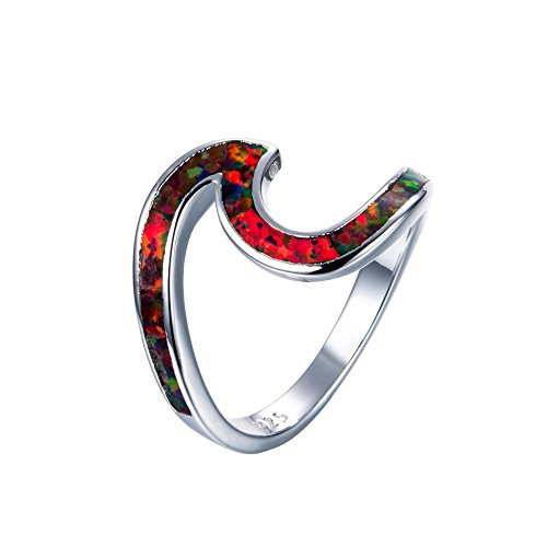 HIRIRI Stylish Accessories Anniversary Ring Copper Silver Jewelry Necklace Wedding Engagement Present ()