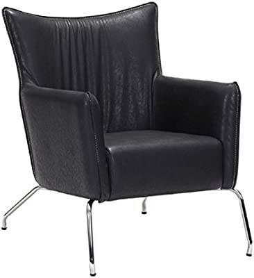 Merveilleux ZUO Furnitures Occasional Living Room Chair Comfy Chairs For Living Room  Upholstered   Black