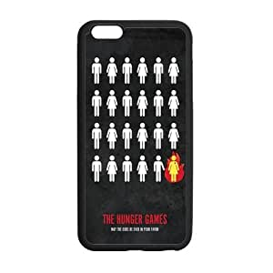 the Case Shop- The Hunger Games Movie Quotes TPU Rubber Hard Back Case Silicone Cover Skin for iPhone 6 Plus 5.5 Inch , i6pxq-393