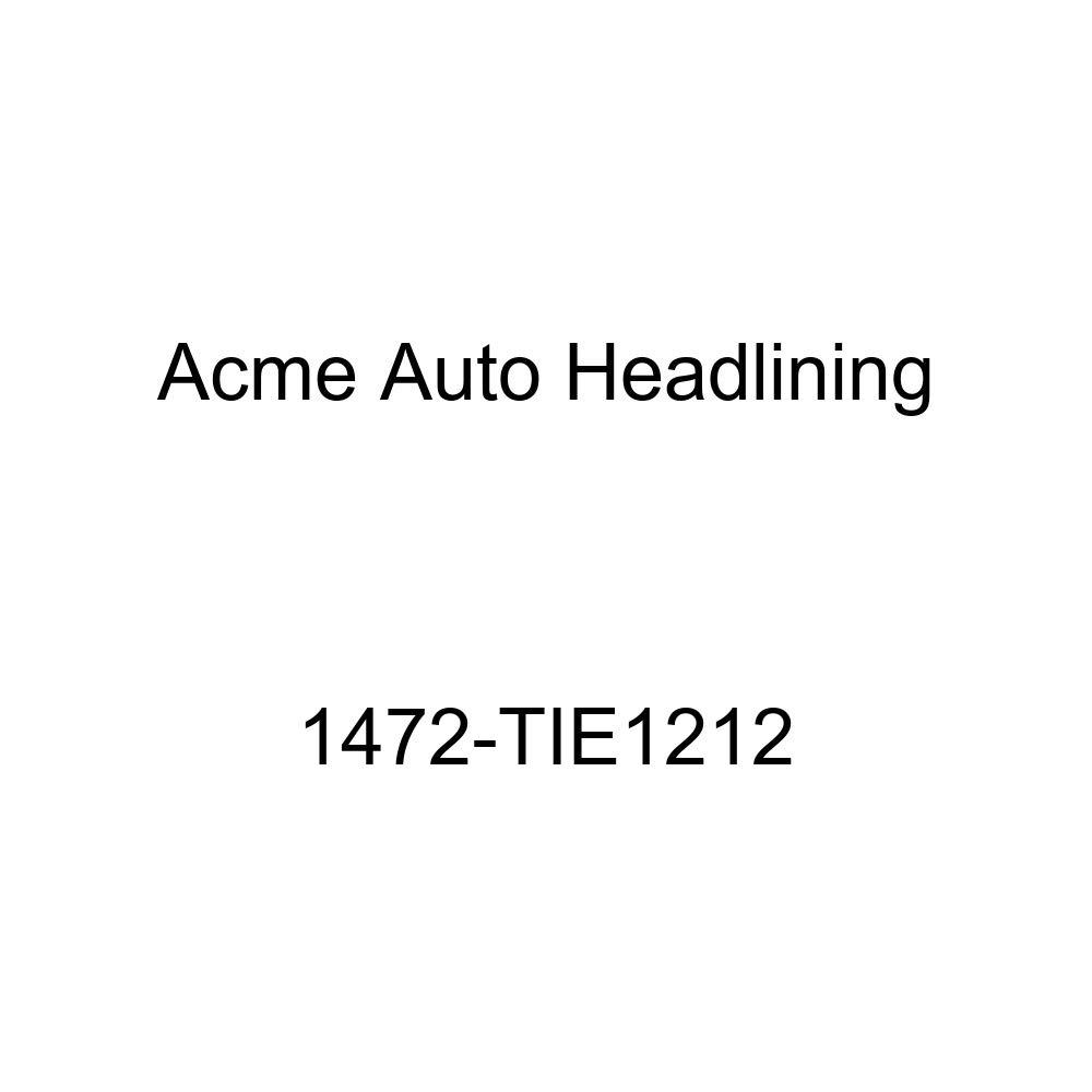 1957 Chevrolet Bel Air /&, Nomad 2 Door Wagon 6 Chrome Bows Acme Auto Headlining 1472-TIE1212 Dark Blue Replacement Headliner