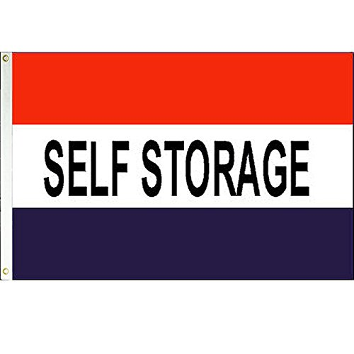 Self Storage  Flag 3x5 Polyester Flag