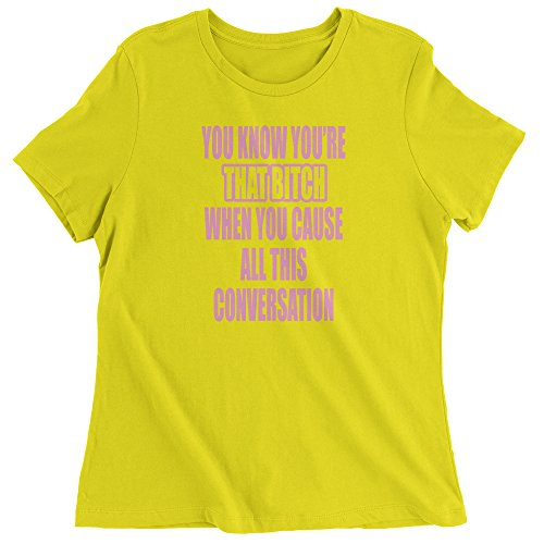 Bitch Yellow T-shirt - 4