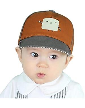 Kids Toddler Baseball Cap for Boy Girl Bongrace Robot Sun Hat Breathable