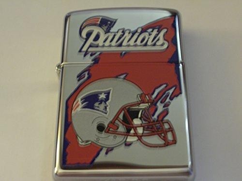 Zippo NFL New England Patriots Football High Polish Chrome (Chrome Ball Feet)