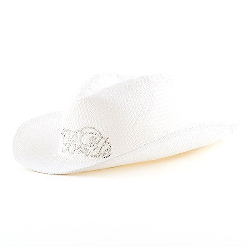 White ''Bride'' Cowboy Hat