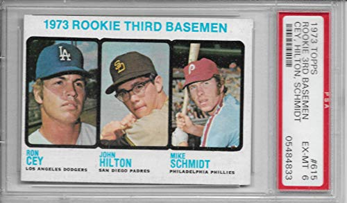 1973 Topps Mike Schmidt Psa 6