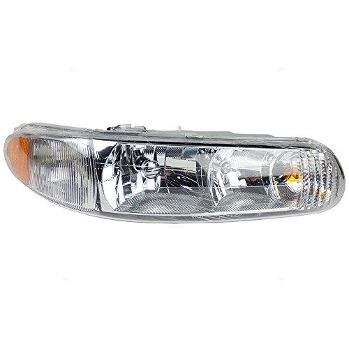 Passengers Headlight Headlamp Replacement for Buick 19244638 -