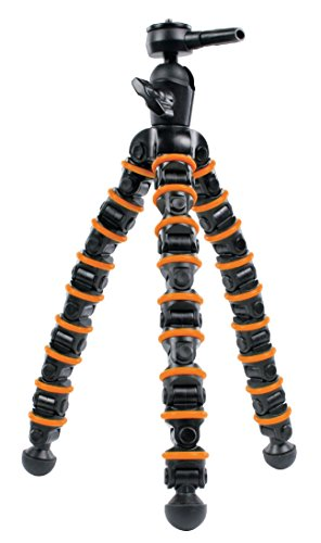Eurosell Profi 32,5cm Medium Tisch Kamera Stativ - 9-gliedrig - Ultra flexibel - für Canon / Nikon / Samsung etc.