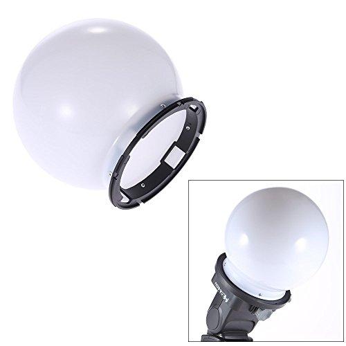 Andoer Soft Ball Dome Softbox Diffuser Universal Flash Bounce for Nikon Canon Yongnuo Speedlight