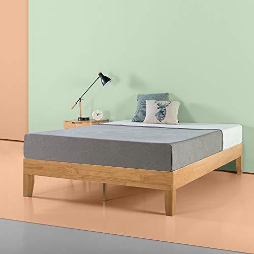 Amazon Com Zinus Moiz 14 Inch Deluxe Wood Platform Bed