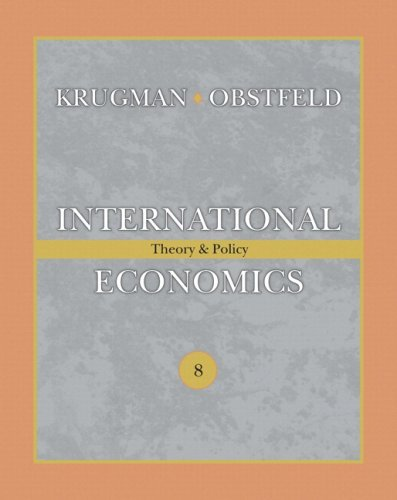 International Economics: Theory and Policy plus MyEconLab plus eText 1-semester Student Access Kit (8th Edition)