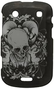Eagle Cell PIBB9900R2D101 Stylish Hard Snap-On Protective Case for BlackBerry Bold 9900 - Retail Packaging - Skull with Angel