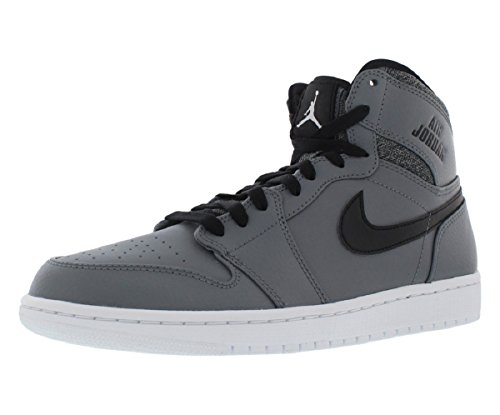 Sportive Jordan 1 Uomo Scarpe Bianco Freddo Air Nike Retro High Nero Grigio Bianco wRqfxY5UE