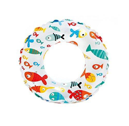 (Intex Lively Underwater Animal Print 20 Inch Swim Ring Pool Float (Fish))