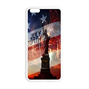Cutomize Statue of Liberty Ultimate Protection Scratch Proof Case TPU Skin for iphone 6 Cover 4.7 inch