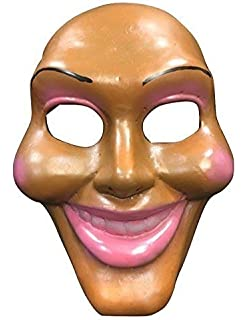 La Purga Original Cara Lujo Halloween Cosplay FIBRA DE VIDRIO Película Máscara universal TALLA con /