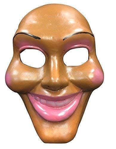 La Purga cara original LUJO FIBRA DE VIDRIO Máscara - Cosplay Halloween lujo - UNIVERSAL TALLA
