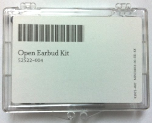 OPEN DOME KIT - Small, Medium, and Large for STARKEY RIC Hearing Aids - 30 Pack (10 domes of each size)