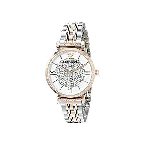 Emporio Armani Women's AR1926 Retro Two Tone Watch