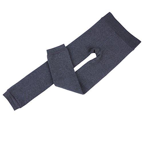 Innabella Girls Winter Cotton Melange Fleece Lined Warm Velvet Leggings
