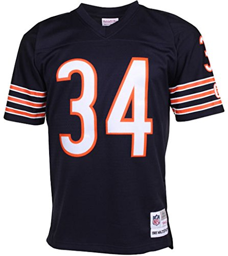 ... best price amazon mens chicago bears walter payton mitchell ness navy  1985 retired player vintage replica d699d5461