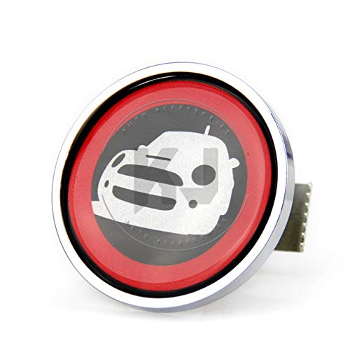 32 Front Grille Emblem for Cooper R55 R56 R57B R58 R59 R60 R61 F55 F56 F60 Metal Car Styling Accessories  (color Name  27)