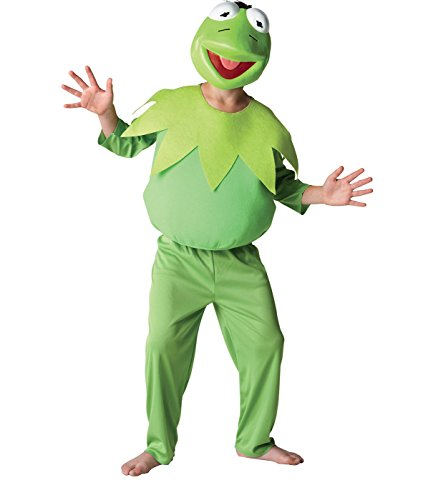 Large Boys Deluxe Kermit The Frog Costume