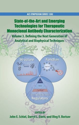 State Of The Art And Emerging Technologies For Therapeutic Monoclonal Antibody Characterization Volume 3   Defining The Next Generation Of Analytical And Biophysical Techniques   Acs Symposium Series