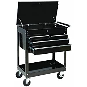 Maxworks 40106 Four Drawer Roller Service Cart, 580-Pound Capacity