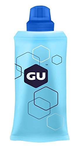 GU Energy Refillable Flask for Sports Nutrition Energy Gel, 5.5 Ounce