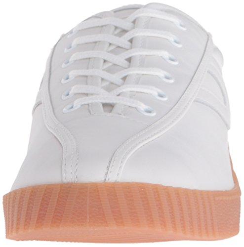 Tretorn Kvinna Nylite2 Plus Mode Sneaker Vit / Vit / Vit / Honung