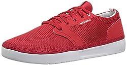 New Balance Men's Apres Baseball Shoe, Red/White, 14 D US