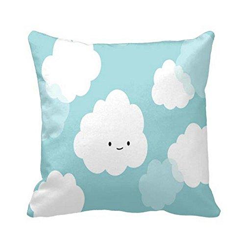 Julyou Funda de almohada con diseño de nubes de dibujos ...