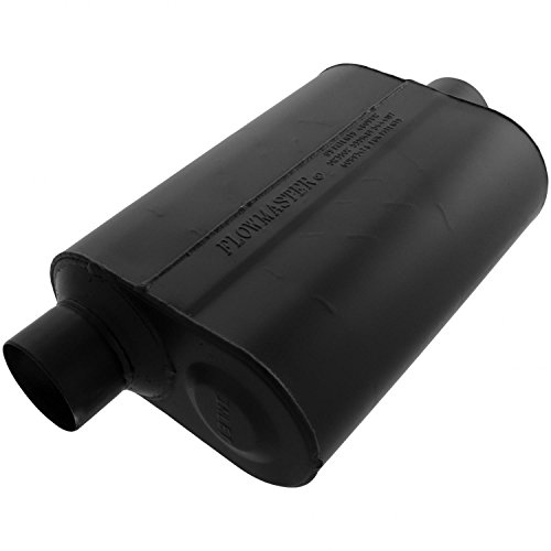 Flowmaster 953046 Super 40 Muffler - 3.00 Offset IN / 3.00 Center OUT - Aggressive Sound