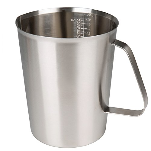 2000ml Stainless Steel Coffee Milk Pitcher Frothing Cup - SILVER - 7