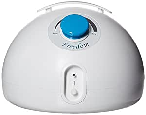 Freemie Freedom Double Electric Hands Free and Concealable Breast Pump, White
