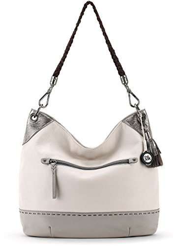 The Sak Women's Indio Leather Hobo Shadow Sparkle Block One Size by The Sak