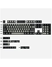 Keycap Set 166 Keys PBT DOUBLE Cherry Profile Keycap Thick For GMK Lris/Red Samurai/Olivia/Striker/Night Runner For Mechanical Keyboard Keycaps Cute Fateggs (Color : 123 keys Sky Dolch)