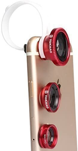 Lente Universal para Smartphone Objetivo para Cámara 3 en 1 Yokkao ...