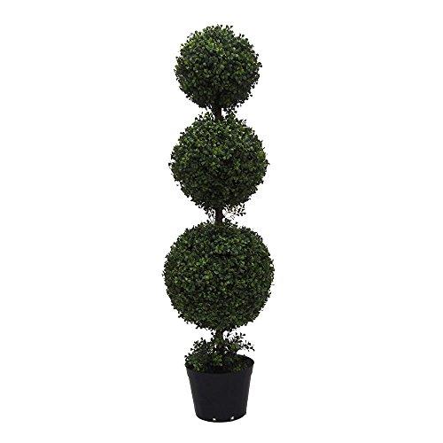 - Vickerman TP170748 Everyday Boxwood Topiary