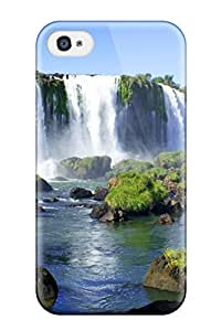 5723576K66602112 Iphone 4/4s Case Slim [ultra Fit] Iguazu Waterfalls Protective Case Cover