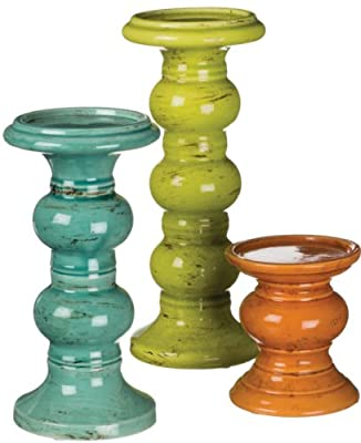 Candleholder, Set of 3