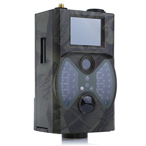 Hunting Trail Camera, Alotm Trail Camera 12MP 1080P Wildlife Gaming & Hunting Camera with 65ft Infrared Night Vision, 90°Detection Angle, 2'' LCD Screen & Waterproof IP66, Wireless Remote Control by Alotm