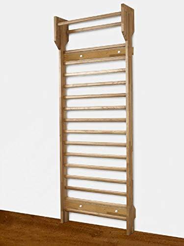 ARTIMEX - Escalera sueca de madera para terapia física y gimnasia - Se utiliza en hogares, gimnasios, clínicas, escuelas o centros de fitness, code 279: Amazon.es: Deportes y aire libre