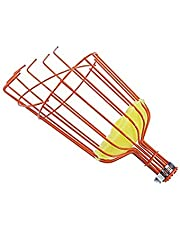 Fruit Picker Basket Tool, Twist-On Fruit Picker Basket, Apple Picking Harvester with Cushion Orchard Picking Basket Fruit Tree Tool for Getting Fruits (Head Only, Pole Not Included)