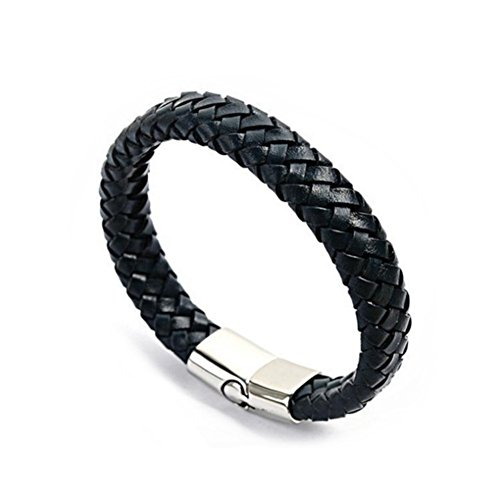 BL1290005C1 2016 Cortical Europe Wave Weave Men's Bracelet
