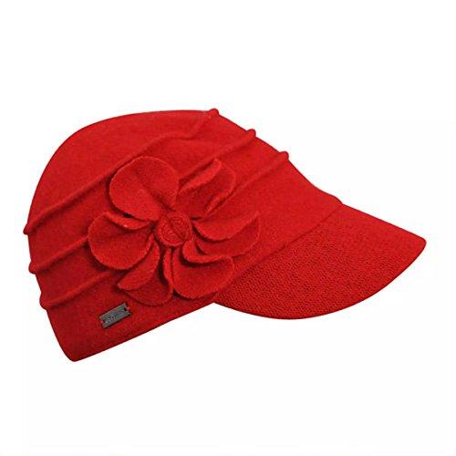 betmar-new-york-ridge-flower-cap-one-size-true-red