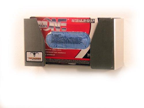 Pit Posse PP2669 Aluminum Latex Glove Box Storage Dispenser Holder ()