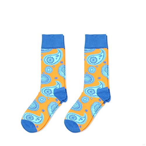 TJBGADIEMS Retro Lover Warm Wool Socks Men Women with Soft Thermal Rich Cotton Novelty Stockings for Gentleman Lady Outdoors Office or the Cold Winter Days Blue -