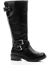 Ruby Largo-3C Girls Kids Riding Boot Knee/Calf High